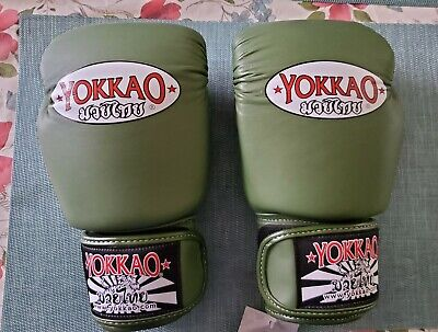 NWT Twins Special Muay Thai Boxing Training Bag Gloves TBGL Black White Red Blue