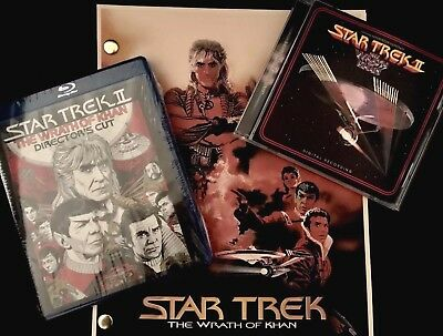 Star Trek THE WRATH OF KHAN Complete Score Director Cut Script CINEMA COLLECTION
