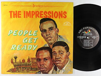 Impressions - People Get Ready LP - ABC-Paramount VG++