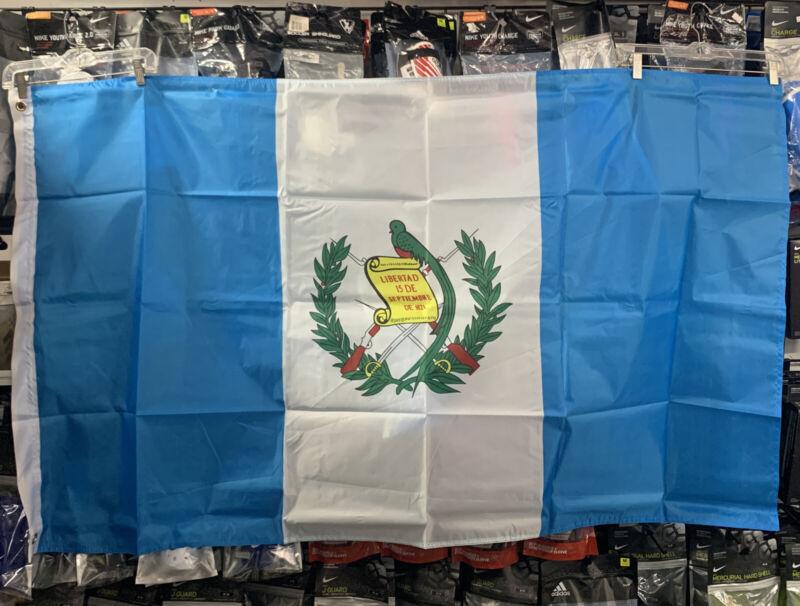 flag 3x5 of guatemala/ Bandera De Guatemala One Piece Free Shipping