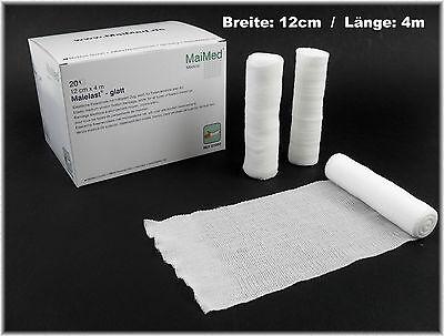 20 elastische Fixierbinde 12cm x 4m alt.zu Elastomull Mullbinde Gr.Preis 0,07€/m