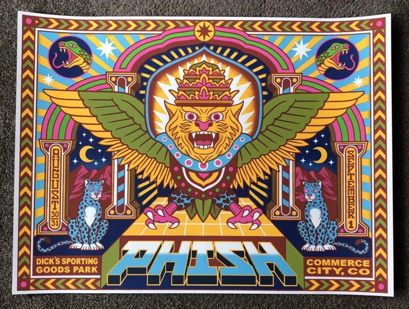 Phish Dicks 2019 Bene Rohlmann Poster Print Not Pollock
