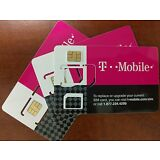Brand New T-Mobile 4G LTE TRIPLE CUT Sim Card Unactivated Tmobile