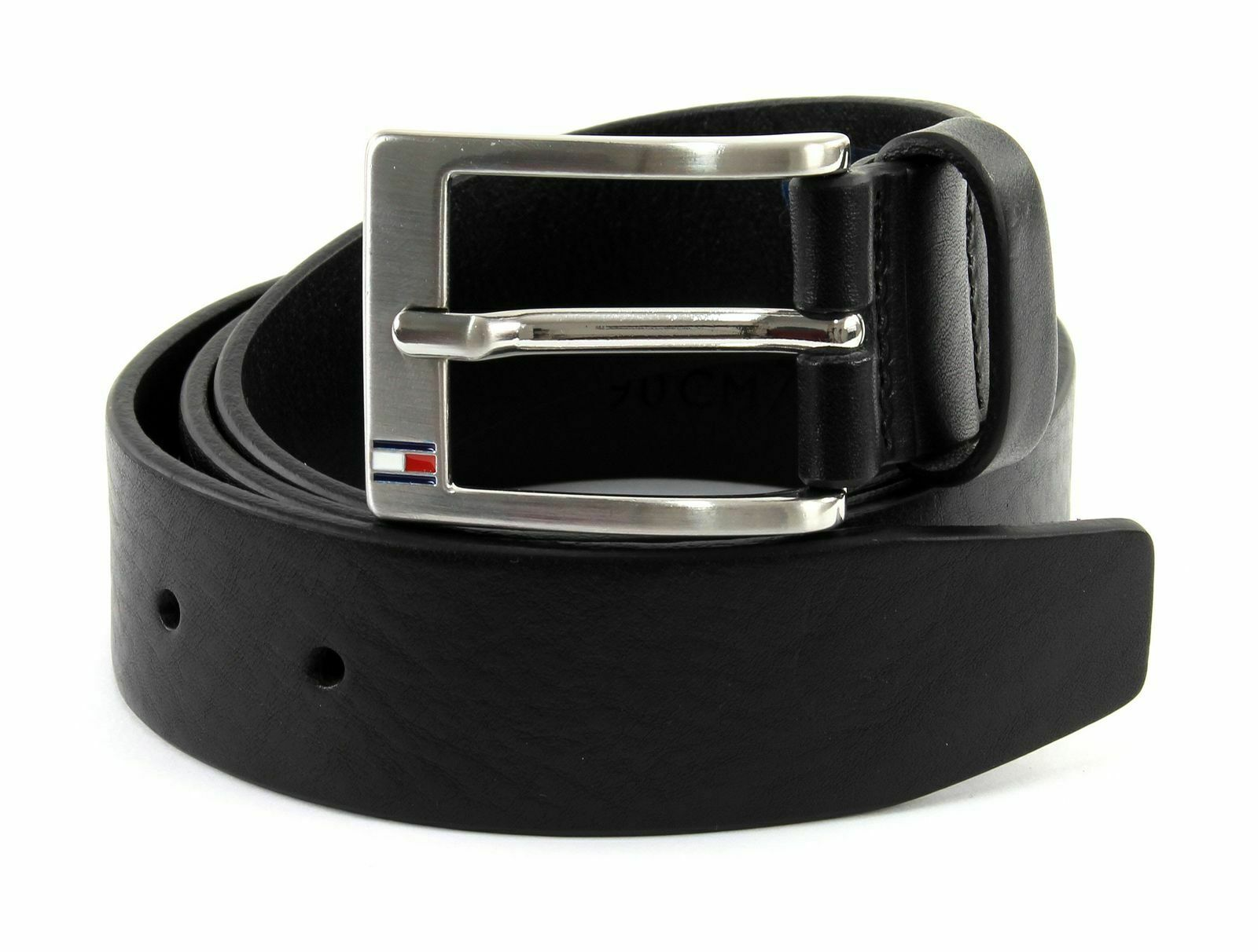 TOMMY HILFIGER New Denton Belt 3.5 W110 Gürtel Accessoire Dark Tan Braun Neu