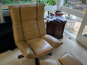 Genuine Moran Leather Armchairs Balgowlah Manly Area Preview