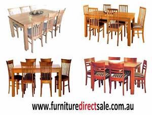 7 PC Tasmania Oak dining sets--$1299