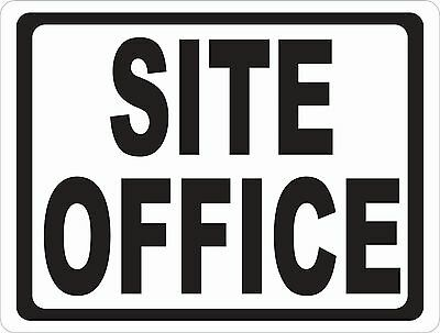 Site Office Sign. Size Options. Construction Work Offices Worksite