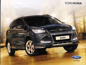 Ford Kuga 10 / 2014 catalogue brochure tcheque Czech rare - <span itemprop='availableAtOrFrom'> Varsovie, Polska</span> - Ford Kuga 10 / 2014 catalogue brochure tcheque Czech rare -  Varsovie, Polska