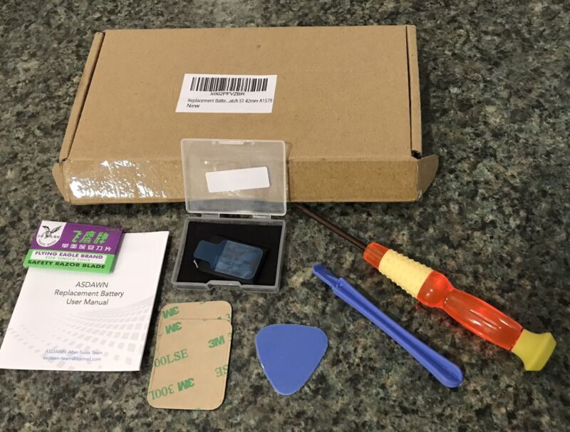 Apple Watch Battery Replacement Kit Fits 42mm A1579