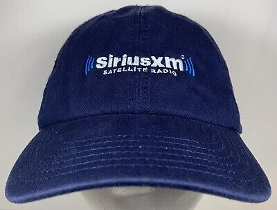 Sirius XM Hat Satellite Radio Hat Navy Blue Baseball Cap Music Car Audio Cap Car Audio