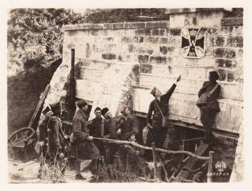 WORLD WAR I ~ ENTRANCE TO MONTSEC FRANCE - 1918