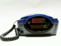 Conair Caller ID Clock Radio Telephone Telephone blue gray CID400 CID-400 Phone