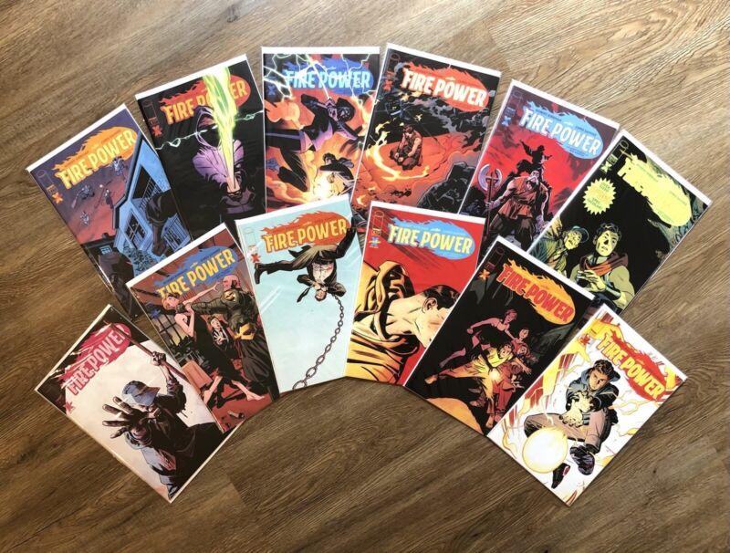 Fire Power #1-12 Comic Book Lot, Image, Robert Kirkman, Chris Samnee, NM