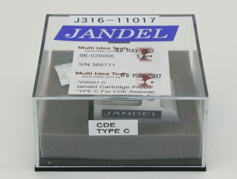 11017 Jandel Cartridge Probe,type C, For Cde Resmap Pz00001c