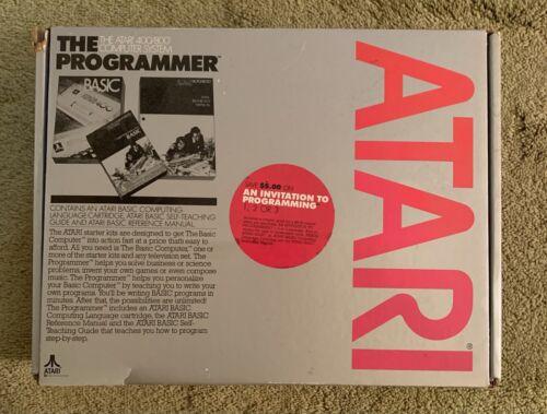 Computer Games - Atari 'The Programmer' 400/800 Computer System Basic Cartridge NIB! Rare Find