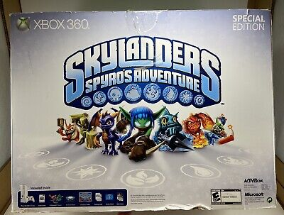 XBOX 360 4GB CONSOLE SKYLANDERS STARTER SPECIAL EDITION BUNDLE NEW
