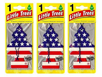 Vanilla Pride Scented Little Trees Hanging Car Air Fresheners 24pk New! Sealed!