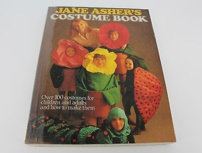 Jane Asher's Costume Book 1991 Over 100 Costumes Ideas Children/Adult Halloween