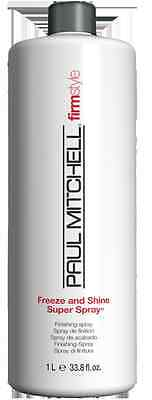Paul Mitchell Freeze and Shine Hair Spray 33.8 oz Liter