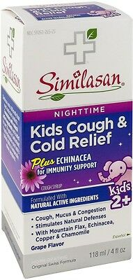 Kids Cough Relief Syrup (Similasan Nighttime Kids Cough - Cold Relief Syrup 4)