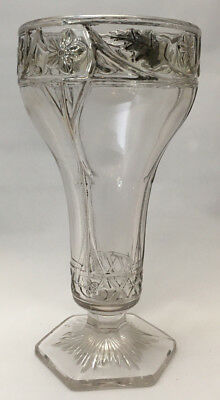 Vintage Goblet with Silver Overlay