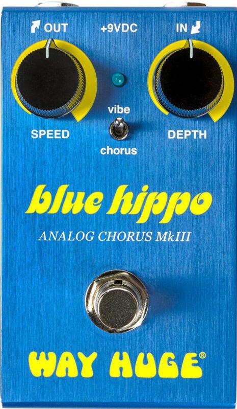 Way Huge® Smalls™ Blue Hippo™ Analog Chorus Pedal