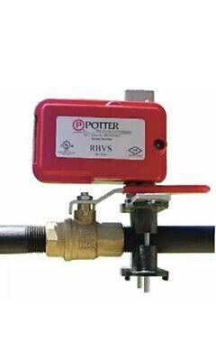 New Potter Rbvs Retrofit Ball Valve Switch Universal Fire Sprinkler System Alarm