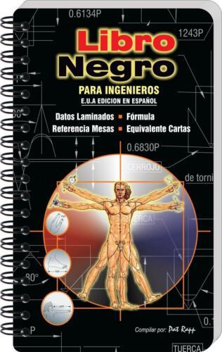 Engineers Black Book, in Spanish