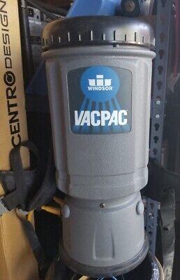 Windsor Vac Pac 6 Quart Backpack Commercial Vacuum Vp6
