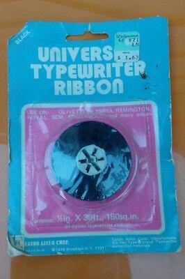 Universal Typewriter Ribbon Spool Black Ink 12 X 30ft Ribbon - New Unused