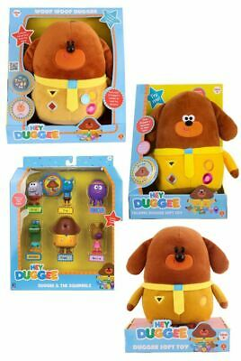 Hey Duggee Toys - Plush Woof or Talking Duggee