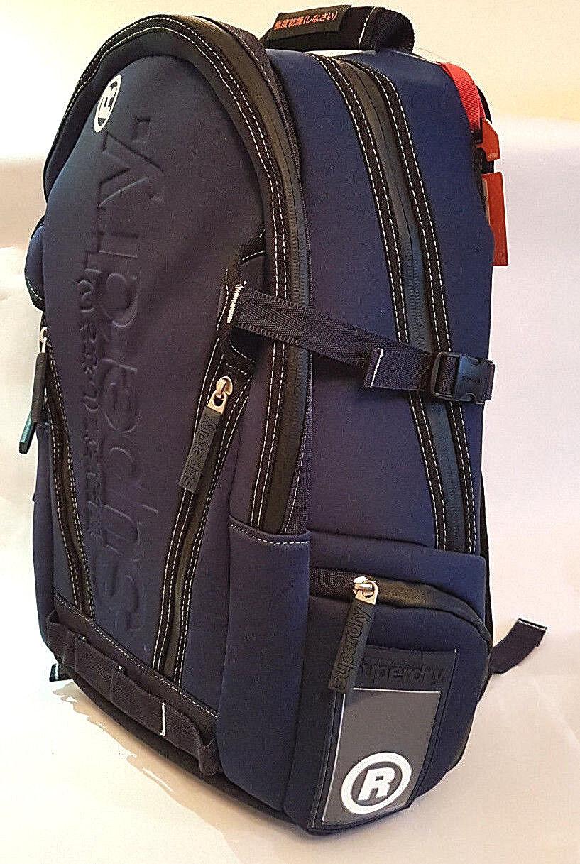 Superdry 2018 Super G Neotarp Tarpaulin Mp3 Gym Backpack Laptop Rucksack Sale
