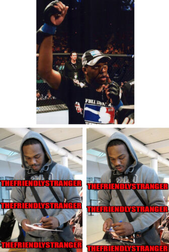"JON JONES signed Autographed ""UFC"" 8X10 PHOTO g PROOF - Bones UFC GOAT Champ COA"