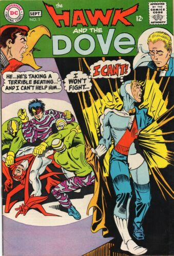 HAWK AND DOVE 1   BEAUTIFUL BOOK !       LOW PRICE!