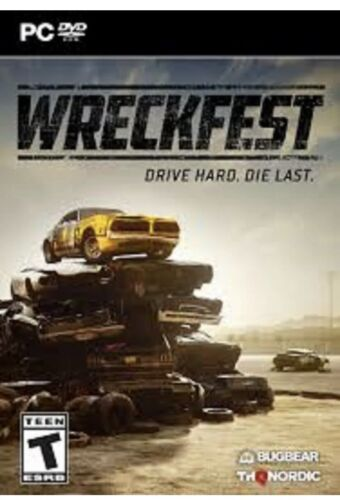 Computer Games - Wreckfest Drive Hard Die Fast For (PC DVD Game) Computer