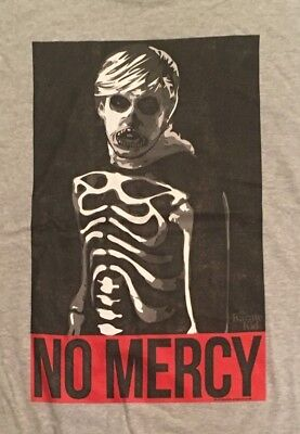 The Karate Kid T-Shirt Johnny Lawrence No Mercy Cobra Kai Skeleton Costume 80's ](The Karate Kid Costume)