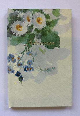 Adressbuch - A7 - Motiv Blütenrausch