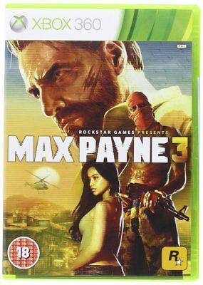 Max Payne 3 Xbox 360 European Version includes; Original Case, Disc & Manual segunda mano  Embacar hacia Argentina