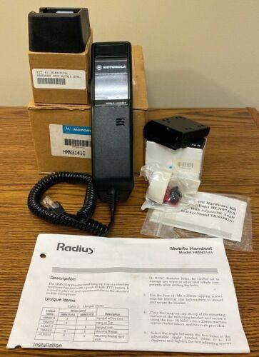 NEW Motorola Radius HMN3141C PTT Mobile Handset w/ Hang-up Cup