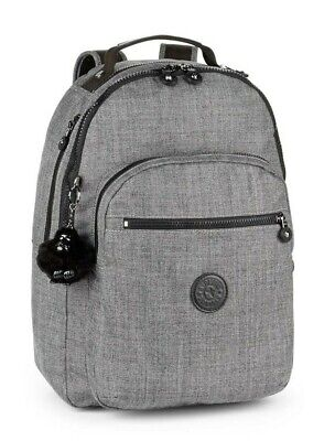 Kipling CLAS SEOUL Backpack with Laptop Compartment - Cotton Grey