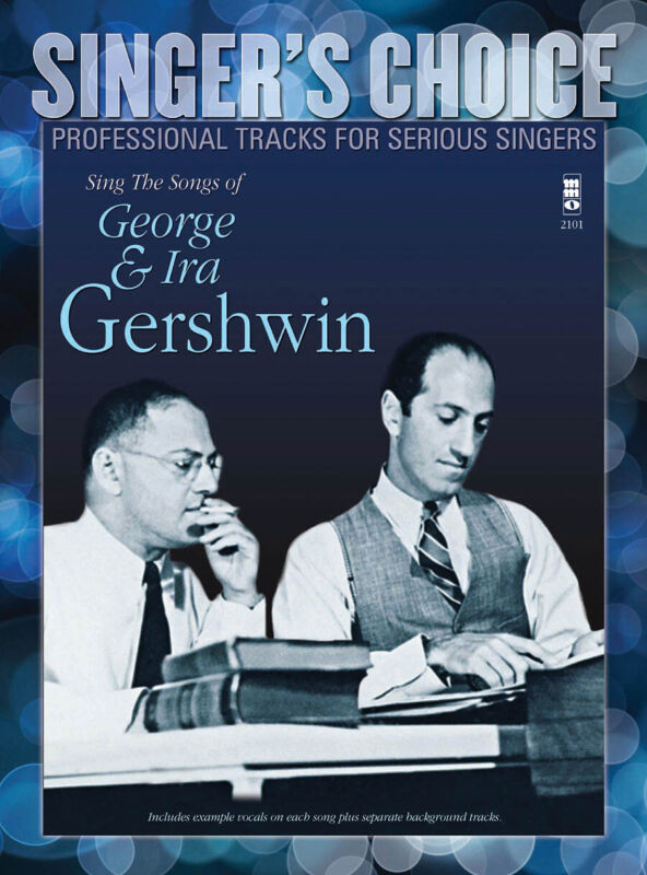 Sing the Songs of George & Ira Gershwin Vol 1 for Vocal Sheet Music Book CD