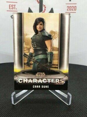 2020 Star Wars The Mandalorian Season 1 Characters Cara Dune #C3