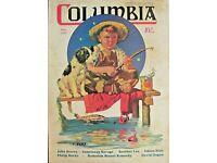 First Catch by Jim Daly Kid Children Fishing Dog Americana Print Poster 11x14