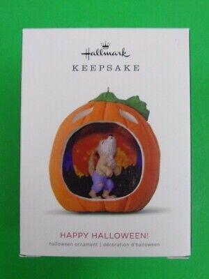 HAPPY HALLOWEEN! - 2018 Hallmark Halloween Keepsake Ornament - NEW IN BOX - 6th](Happy Halloween Happy Halloween)