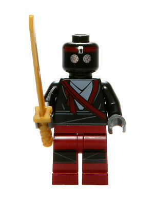 LEGO 79104 Teenage Mutant Ninja Turtles Dark Red Foot Soldier - Red Lego Ninja