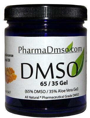 DMSO Gel 65/35 Aloe Vera infused w/ Frankincense essential oil 1.7 oz. Aloe Vera Essential Oil