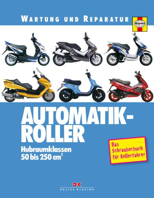 Automatik-Roller Reparaturanleitung Reparaturbuch Reparatur-Handbuch Buch NEU