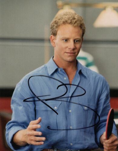 Ian Ziering Beverly Hills 90210 signed 10x8 photo UACC Signing Details [16218]