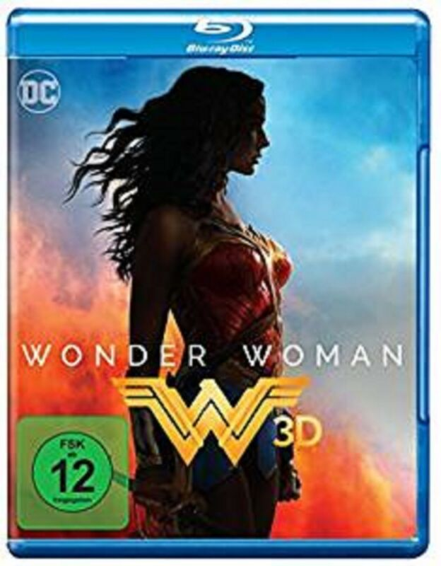 Wonder Woman 3D Blu-ray Kinofilm NEU OVP DC Universe