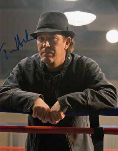 Timothy Hutton signed Leverage 10x8 photo AFTAL Full Signing Details COA [16210]
